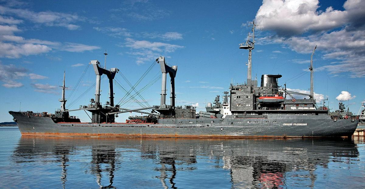 американская подводная лодка в кольском заливе