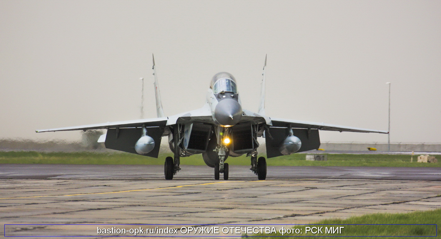 Fighter mig 35 has arrived in kazakhstan for participation in kadex