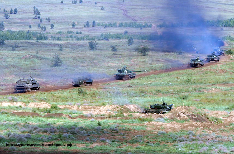 Russia's joint military exercises with foreign countries SELENGA-2016_160901_02