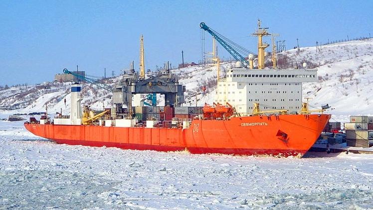 Картинки по запросу лихтеровоз-контейнеровоз «Севморпуть»